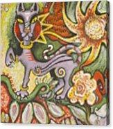 Jungle Cat Acrylic Print