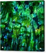 Jungle Colors Acrylic Print