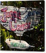 Jungle Cruise Acrylic Print