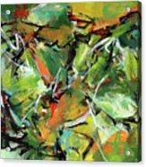 Jungle Green Acrylic Print
