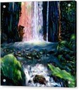 Jungle Pool Acrylic Print