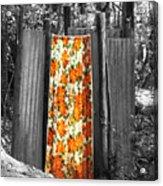 Jungle Shower Acrylic Print