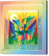 Jungle Sunset Acrylic Print