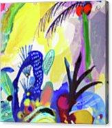 Jungle Vision Acrylic Print