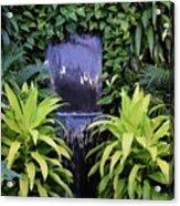 Jungle Waterfall Acrylic Print