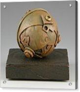 Junkyard Dog Ball Acrylic Print