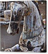 Junkyard Horse Acrylic Print
