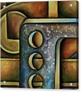 Junkyard Acrylic Print by Kyle Lang