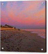 Juno Beach Pastel Sunrise Acrylic Print