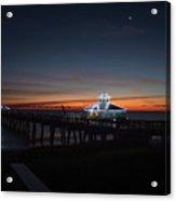 Juno Pier Daybreak Acrylic Print