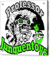 Junquentoys Circular Logo Acrylic Print