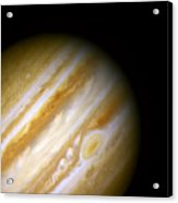 Jupiter And The Great Red Spot Acrylic Print