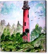 Jupiter Florida Lighthouse Acrylic Print
