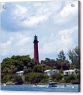 Jupiter Inlet Florida Acrylic Print