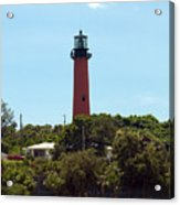 Jupiter Inlet Light Acrylic Print