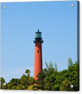 Jupiter Light In Florida Acrylic Print