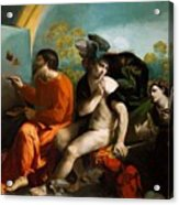 Jupiter Mercury And Virtue 1524 Acrylic Print