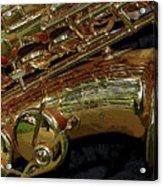 Jupiter Saxophone Acrylic Print