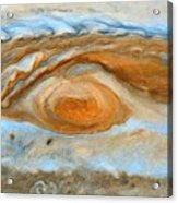 Jupiterian Storm Of The Century Acrylic Print