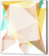 Jura Polygon Pattern Acrylic Print