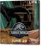 Jurassic World Fallen Kingdom 2.5 Acrylic Print