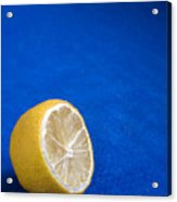 Just A Lemon Acrylic Print
