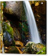 Just A Very Small Waterfall II Acrylic Print