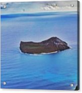 Just An Island Away Acrylic Print