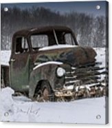 Just An Old Pickup Truck Acrylic Print