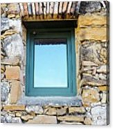 Just Another Historic Window Acrylic Print
