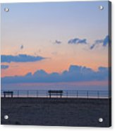 Just Before Sunrise In Asbury Park Acrylic Print