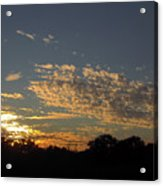 Just Before Sunset Acrylic Print