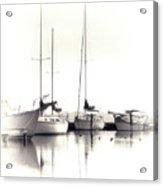 Just Boats Acrylic Print