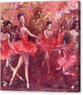 Just Dancing Acrylic Print