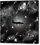 Just For Fun Through The Stars Acrylic Print
