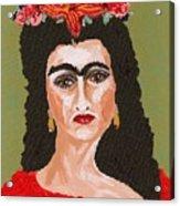 Just Frida Acrylic Print