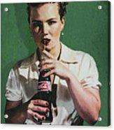 Just Like Old Times - Coca-cola Acrylic Print