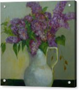 Just Lilacs                 Copyrighted Acrylic Print