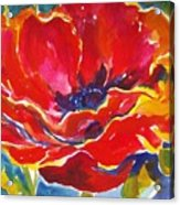 Just One Poppy  Sold Acrylic Print