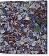 Just Stones Painting Acrylic Print
