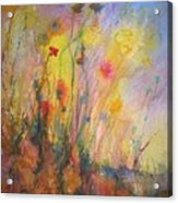 Just Weeds Acrylic Print