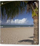 Just You And The Beach Acrylic Print