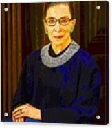 Justice Ginsburg Acrylic Print