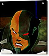 Justice League Doom Acrylic Print