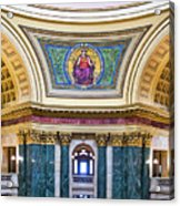 Justice Mural - Capitol - Madison - Wisconsin Acrylic Print