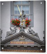 Justice Of Wittenberg Acrylic Print