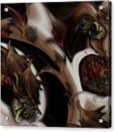 Juxtaposed Nature Acrylic Print