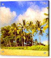 Kaanapali Beach Maui Acrylic Print
