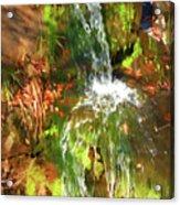 Waterfall Of Love Acrylic Print