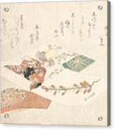 Kabuki Dancer From The Maiden Acrylic Print